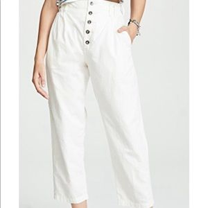 Free People   Compass Trousers   Size 8